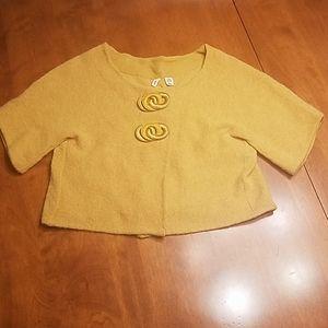 Moth Anthropologie shrug cardigan sweater